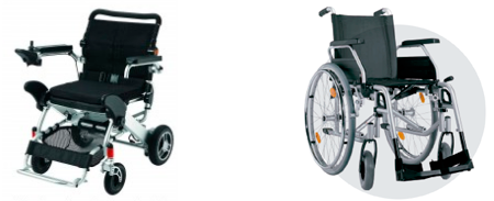 Electric wheelchairs in Barcelona